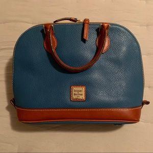 Dooney & Bourkepebble leather Zip Zip Satchel